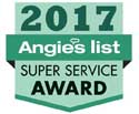 Angies List 2017 Award